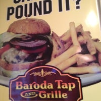 Photo taken at Baroda Tap & Grille by lyza k. on 7/4/2012