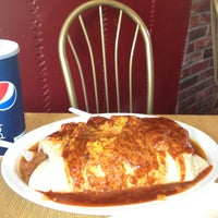 Photo taken at Manuel's Original El Tepeyac Cafe by Oscar K. on 4/26/2012