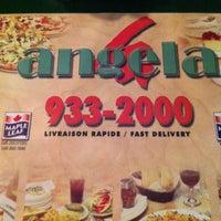 Photo taken at Angela Pizzeria & Restaurant by sherwin v. on 2/12/2012