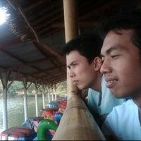 Photo taken at Situ Sawangan by Sukria C. on 10/1/2011