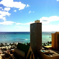 Photo Taken At Waikiki Beach Marriott Resort Amp Spa By J T
