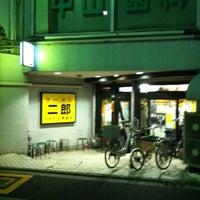 4/9/2012 tarihinde びーぐるziyaretçi tarafından Ramen Jiro'de çekilen fotoğraf