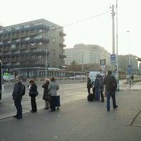 Photo taken at Dejvická (bus) by Tigra . on 11/22/2011