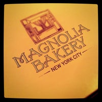 Photo taken at Magnolia Bakery by Mico R. on 11/24/2011
