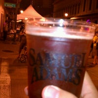 Photo taken at Octoberfest Block Party by Rob G. on 10/1/2011