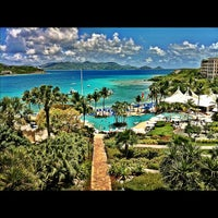 Photo taken at The Ritz-Carlton, St. Thomas by Kim N. on 4/15/2012