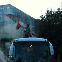 Photo taken at Piazza Tacito by Silvia V. on 4/25/2012