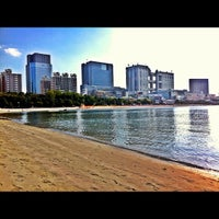 Photo taken at Odaiba Marine Park by zygosys on 10/29/2011