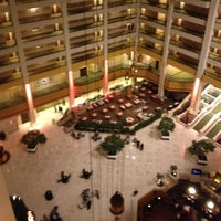 Photo taken at Renaissance Atlanta Waverly Hotel & Convention Center by Amber R. on 1/27/2012
