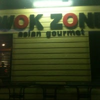 Photo taken at Wok Zone by Jeremy L. on 12/20/2011