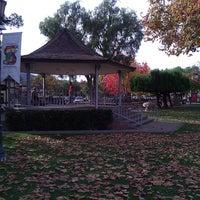 Photo taken at Solvang Park by Christopher V. on 11/28/2011