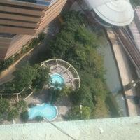 Photo taken at Swimming Pool @ Villa Puteri by Arief D. on 9/4/2011