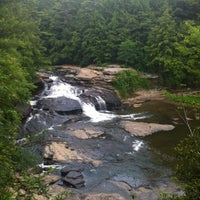 Photo taken at Swallow Falls State Park by Steven M. on 6/29/2012