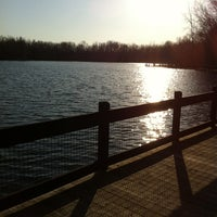 Photo taken at Hawk Island County Park by Liz O. on 3/14/2012