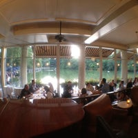 Photo taken at The Loeb Boathouse by Jorge G. on 7/1/2012