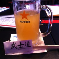 Photo taken at Bushido Sushi & Bar by David F. on 4/11/2012