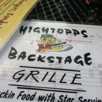 Photo taken at Hightopps Backstage Grille by Michelle C. on 4/21/2012