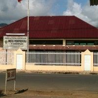 Photo taken at Mess Prop.Sumatera Utara - P.Sidimpuan by Toto Malandow H. on 9/11/2012
