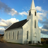 Photo taken at Clementsvale United Baptist Church by Phread G. on 10/16/2011