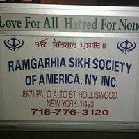 Photo taken at Ramgharia Sikh Gurdwara Sahib by Jagjit S. on 4/16/2011
