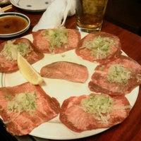 Photo taken at 焼肉 凱旋門 駒込 by Yoshihisa K. on 12/23/2011