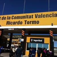 Photo taken at Circuit de la Comunitat Valenciana Ricardo Tormo by Gustavo M. on 3/13/2011