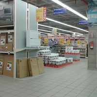 Photo taken at BricoKing by Barbarella B. on 1/16/2012