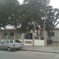 Photo taken at Escola de Referência de Ensino  Médio Deolinda Amaral by Esildo F. on 5/25/2012