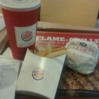 Photo taken at Burger King by Wan Izan Nadia W. on 12/2/2011