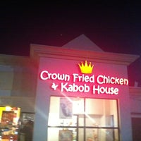 Photo taken at Crown Fried Chicken & Kabob House by Ken E. on 1/27/2012
