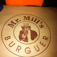Photo taken at Mr. Mill's Burguer by Marcio F. on 12/31/2011