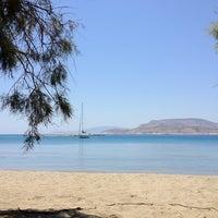 Photo taken at Tsigouri Beach by Vangelis M. on 7/1/2012