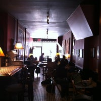 Photo taken at Cafe Edna by Giovanni S. on 5/17/2012