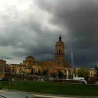 Photo taken at Catedral de Guadix by Victoria C. on 4/2/2012