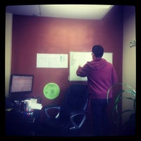 Photo taken at ClearlyM HQ by Rob B. on 4/13/2012