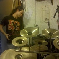 Photo taken at Drum Groove School Di Andrea Pollastri by Andrew P. on 9/2/2011