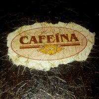 Photo taken at Cafeína by Washington L. on 9/8/2012