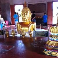 Photo taken at วัดพระทอง (หลวงพ่อพระผุด) (Wat Phra Thong) by iZzy P. on 7/4/2012