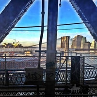 Photo taken at MTA Subway - Manhattan Bridge (B/D/N/Q) by Vanessa V. on 1/9/2012