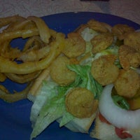 Photo taken at PoBoys Shrimp Shack by Luis C. on 8/25/2012