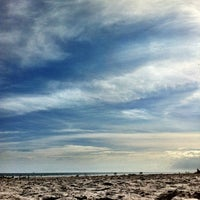Photo taken at Jetty Park by Zachary W. on 1/23/2012