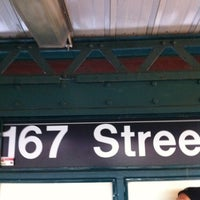 Photo taken at MTA Subway - 167th St (4) by Red S. on 12/8/2011