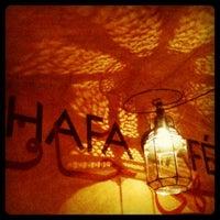 Photo taken at Hafa Cafè by Aurora I. on 11/26/2011