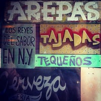Photo taken at Caracas Arepa Bar by Anna S. on 9/8/2012
