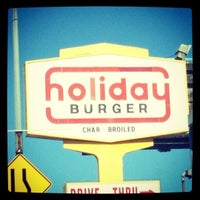 Photo taken at Holiday Burger by Veronica B. on 6/30/2012