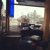 Photo taken at 広島電鉄 寺町電停 (Tera-machi Sta.) (Y2) by Shinji F. on 8/8/2012