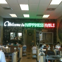 Photo taken at Happiness Nails and Spa by Ryan O. on 4/27/2012