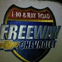 Photo taken at Freeway Chevrolet by Michael E. S. on 10/13/2011