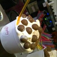 Photo taken at Yogurtry by Zainab M. on 8/18/2011