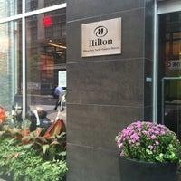 Photo taken at Hilton New York Fashion District by Zeynel B. on 9/30/2011